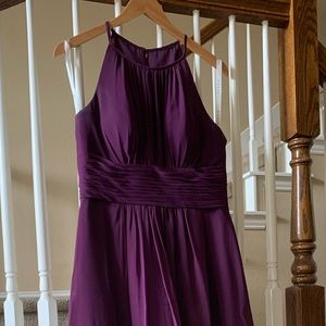 Azazie Bridesmaid Dress Bonnie in Grape